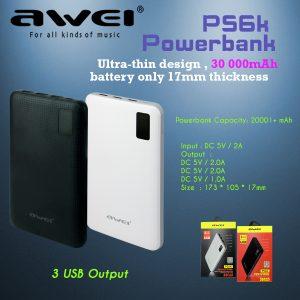 AWEI-Powerbank-P56K-30000mAh
