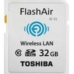 Thẻ nhớ Toshiba Flash Air Wireless SD Card Class 10 32GB 1